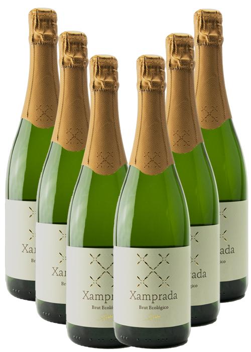 ESPUMOSO XAMPRADA BLANCO BRUT ECOLÓGICO – caja 6 botellas