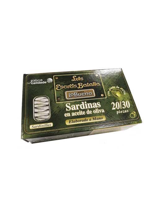SARDINAS EN ACEITE DE OLIVA 20/30 PZ