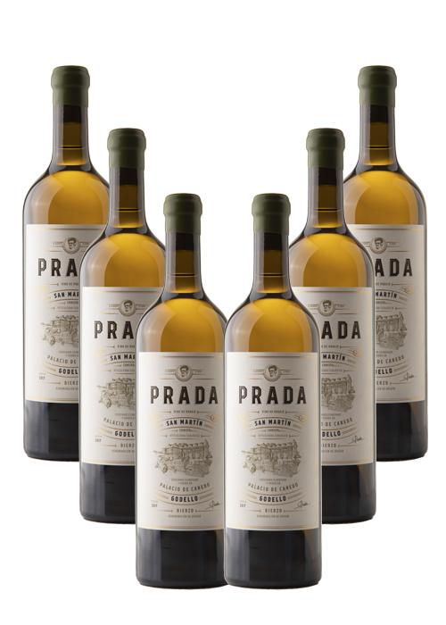 PRADA SAN MARTÍN GODELLO 100% Cosecha 2017 Vino de Paraje – caja de 6 botellas